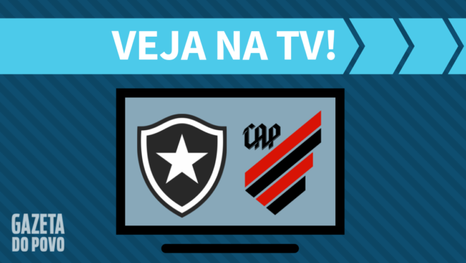 Botafogo x Athletico: veja na TV