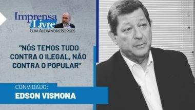 Edson Vismona é o entrevistado de Alexandre Borges dessa semana
