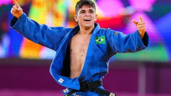 Renan Torres conquistou a medalha de ouro no judô
