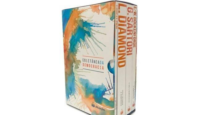 Coletânea lançada pelo Instituto Atuação: quatro obras para pensar sobre a democracia no contexto atual | Divulgação