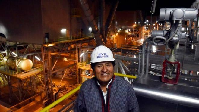 Presidente da Bolívia, Evo Morales, é principal candidato nas eleições de outubro