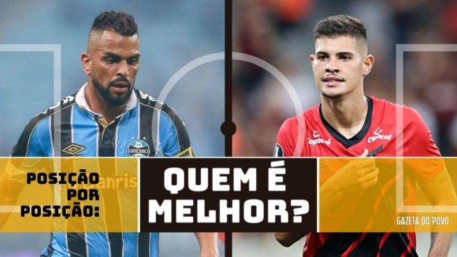 Posição por posição, quem é melhor no duelo entre Grêmio x Athletico; confira!