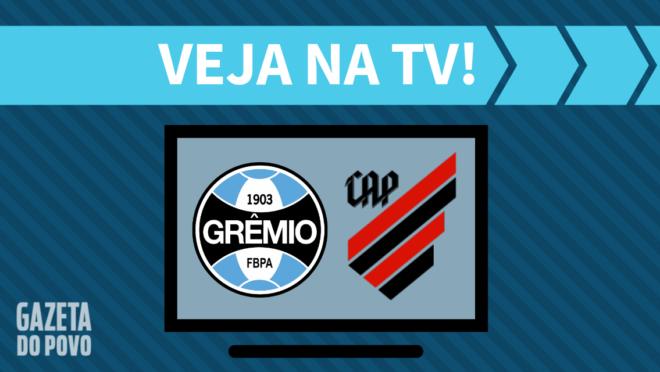 Grêmio x Athletico: veja na TV