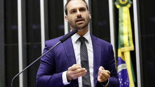 Deputado Eduardo Bolsonaro (PSL-SP)