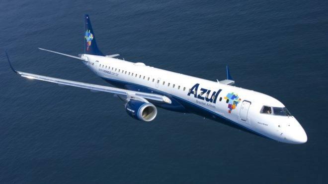 Embraer 195 da Azul