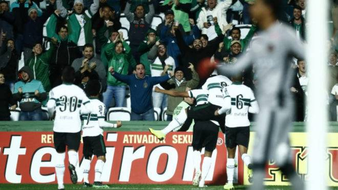 Confira as notas da vitória do Coritiba sobre o Brasil de Pelotas
