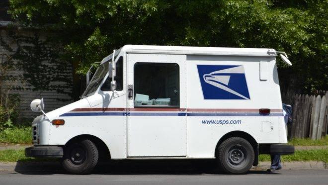 Van do Serviço Postal dos EUA