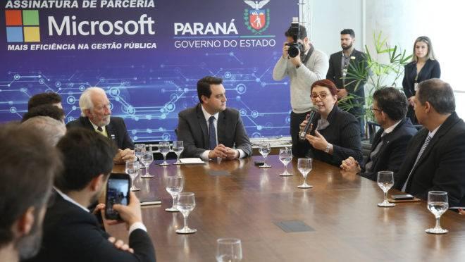 Presidente da Microsoft Brasil, Tania Cosentino, fala sobre a parceria com o governo do estado