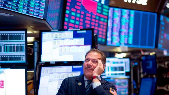 Trader na Bolsa de Nova York