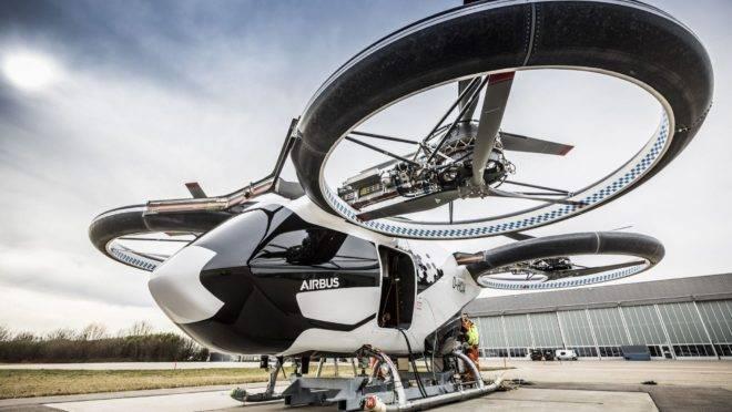 Projeto de aeronave autônoma da Airbus