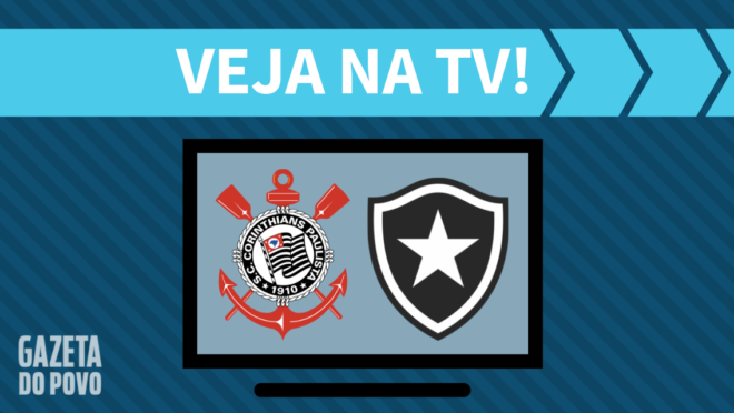 Corinthians x Botafogo: veja na TV