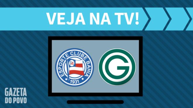 Bahia x Goiás: veja na TV