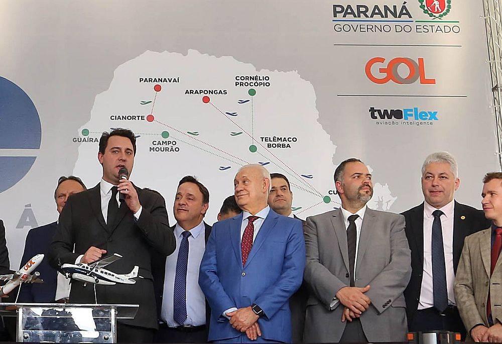 Lançamento do Voe Paraná