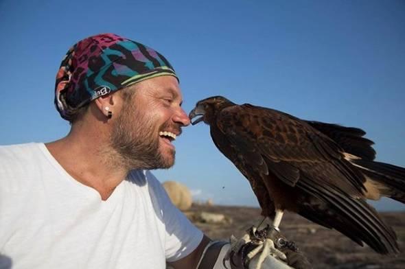 Richard Rasmussen formou-se em biologia depois que começou a apresentar programas com animais na TV.