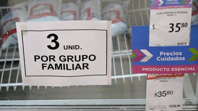 Produtos já estão sendo racionados em Buenos Aires