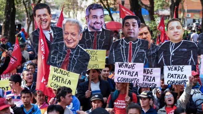 Oposicionistas pedem impeachment do presidente do Paraguai, Mario Abdo Benitez