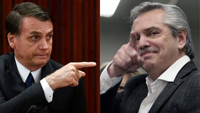Fernández manda recado para Bolsonaro