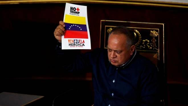 Diosdado Cabello e EUA