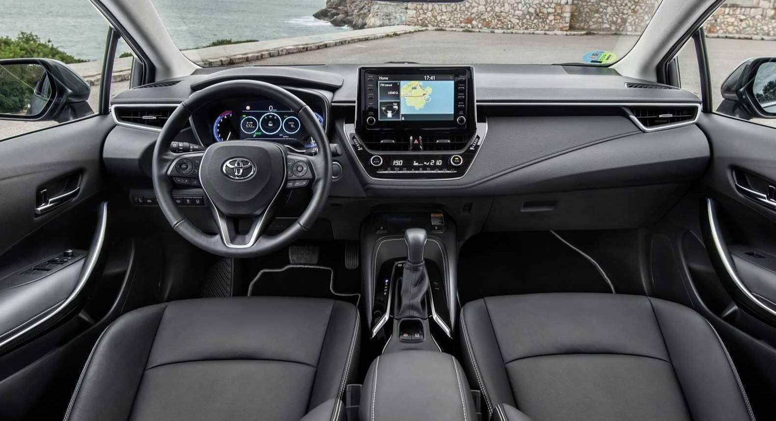 Nova central multimídia terá Apple CarPlay e Android Auto. Foto: Toyota/ Divulgação