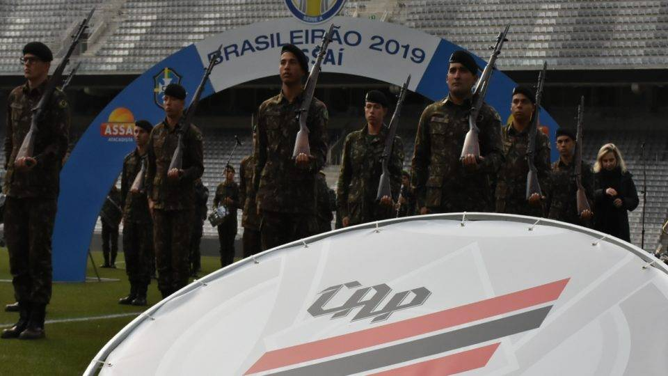 Athletico fará homenagem ao Exército antes de duelo com o São Paulo na Arena