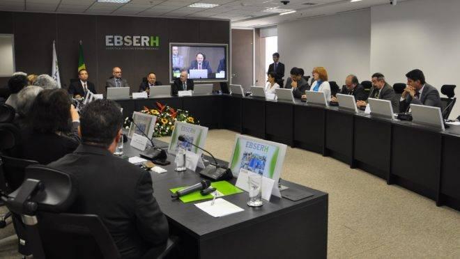 A EBSERH administra os hospitais federais em todo o país