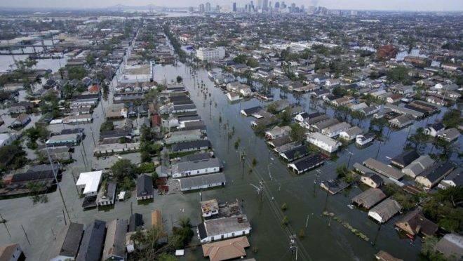 Como o furacão Katrina conseguiu vencer o sindicato dos professores