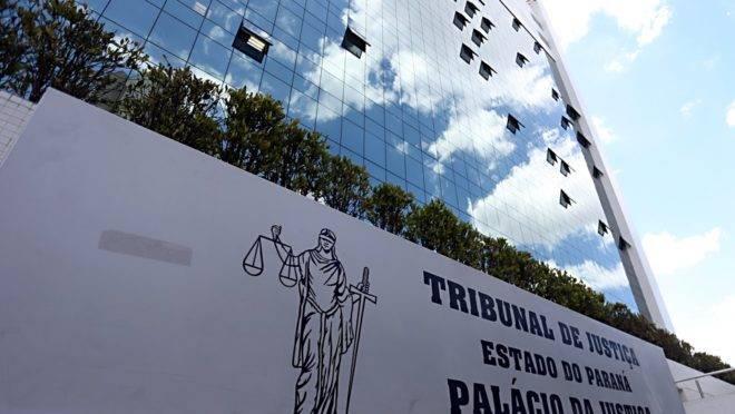 Prédio anexo do Tribunal de Justiça do Paraná abriga o plenário da 2ª Câmara Criminal.
