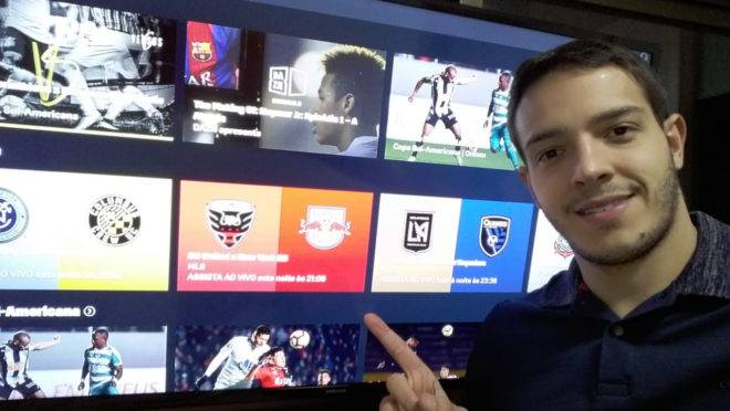 Rafael Oliveira é o novo contratado da DAZN