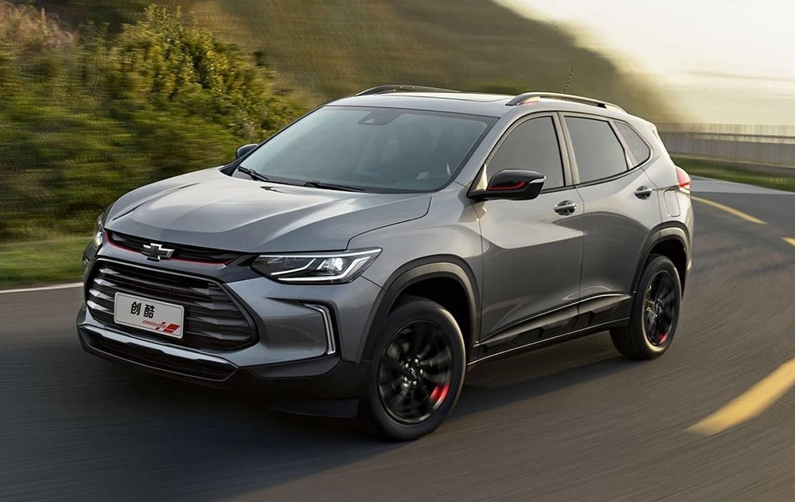 A nova geração do SUV Tracker já foi revelado na China. Foto: GM/ Divulgação