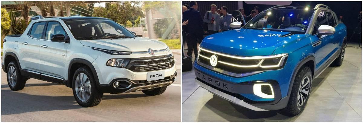 Fiat Toro, campeã de vendas, e a futura VW Tarok, serão as rivais da picape da Chevrolet.