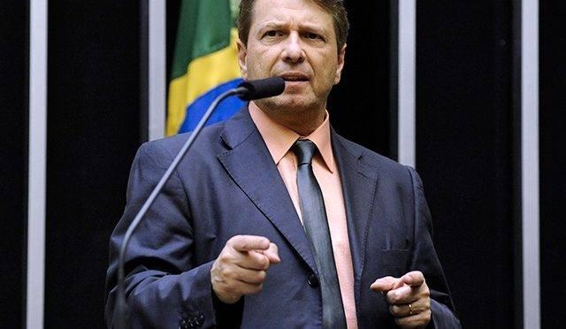 O deputado federal Bibo Nunes. Ele e o empresário Otávio Fakhoury foram condenados a pagar indenização por publicações contra o ex-deputado federal Jean Wyllys (PSOL)