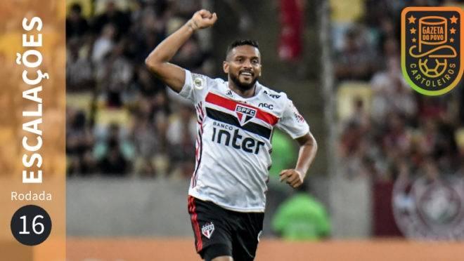 Confira escalações, suspensos e lesionados da 16ª rodada do Brasileirão