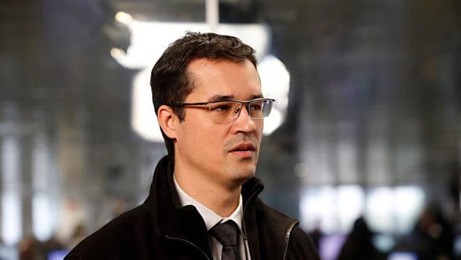 Deltan Dallagnol, coordenador da força-tarefa da Lava Jato no MPF do Paraná, em entrevista no estúdio da Gazeta do Povo.