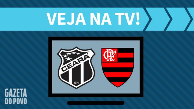 Ceará x Flamengo: veja na TV