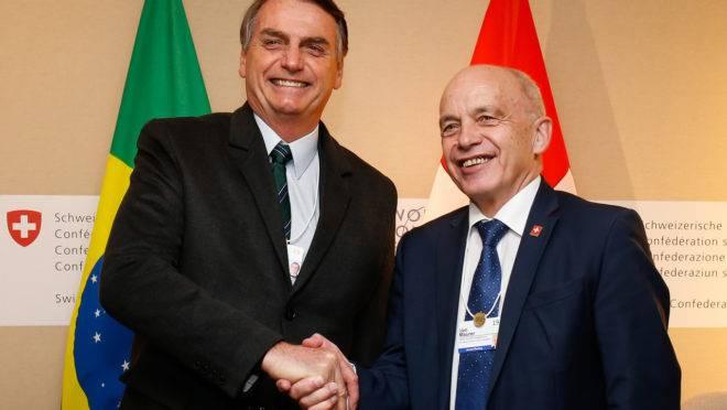 Mercosul-EFTA: Bolsonaro e Ueli Maurer