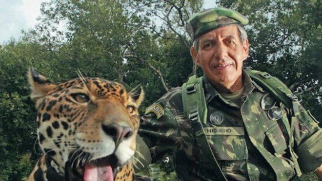 General Heleno na Amazônia
