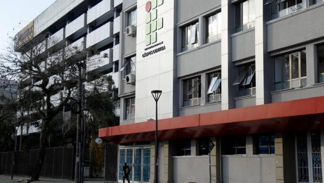 Fachada do Campus IFPR em Curitiba