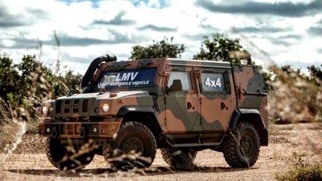 """O LMV foi desenvolvido para a chamada """"garantia da ordem"""", como nas ações durante a intervenção federal no Rio de Janeiro"""