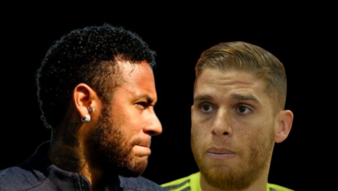 Neymar e Cuellar