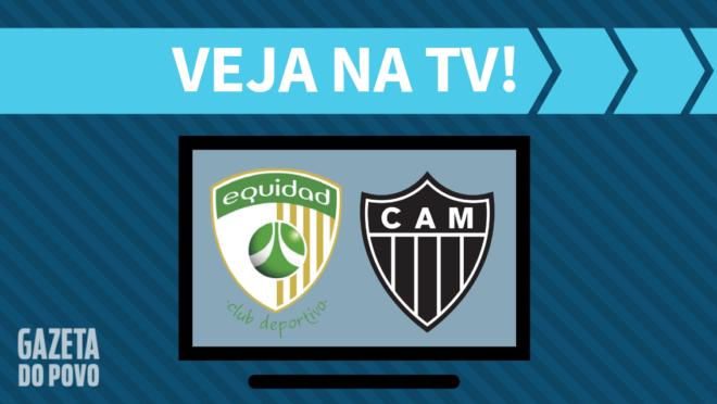 La Equidad x Atlético-MG: veja na TV
