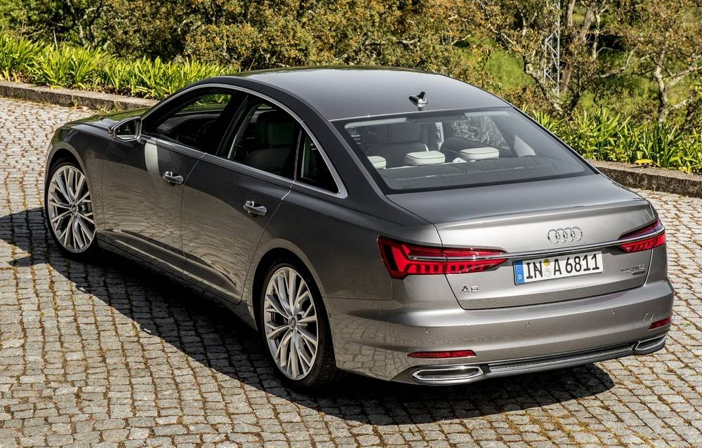 Audi A6 Sedan. Foto: Divulgação