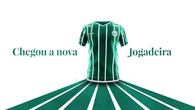 Imagem da nova camisa do Coritiba