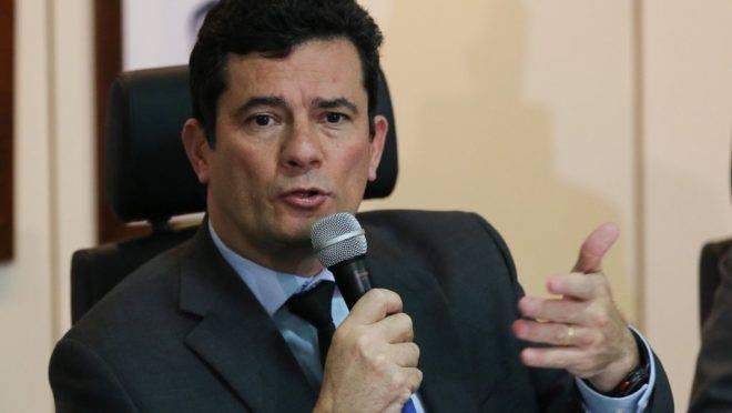 O ministro da Justiça e Segurança Pública, Sergio Moro.
