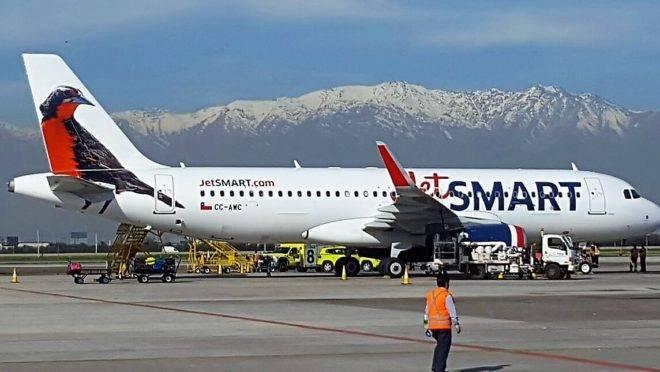 Airbus 320 da JetSmart