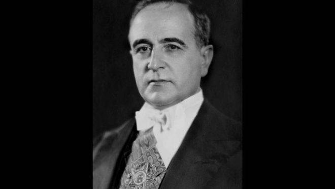 O ex-presidente do Brasil Getúlio Vargas