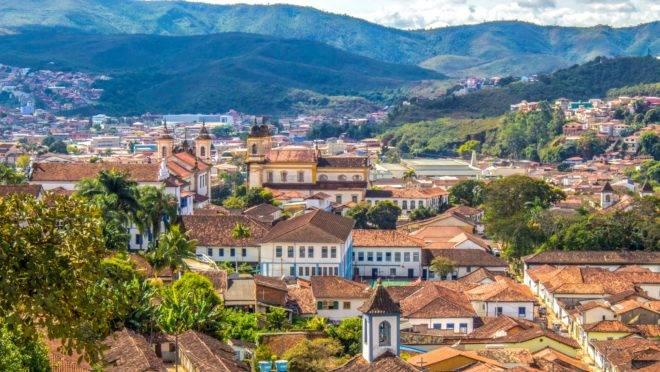Um dos editais abertos é para o município de Mariana (foto), com 34 vagas imediatas
