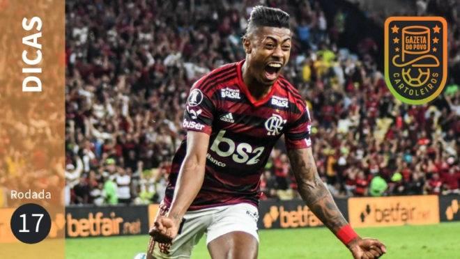 Dicas da 17ª rodada do Cartola FC 2019