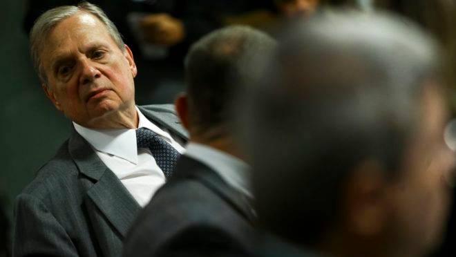 O relator da PEC da reforma da previdência, senador Tasso Jereissati.