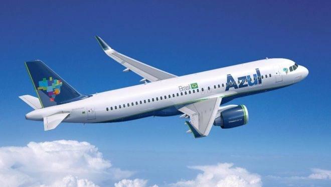 Azul opera 79 voos por dia no Paraná.