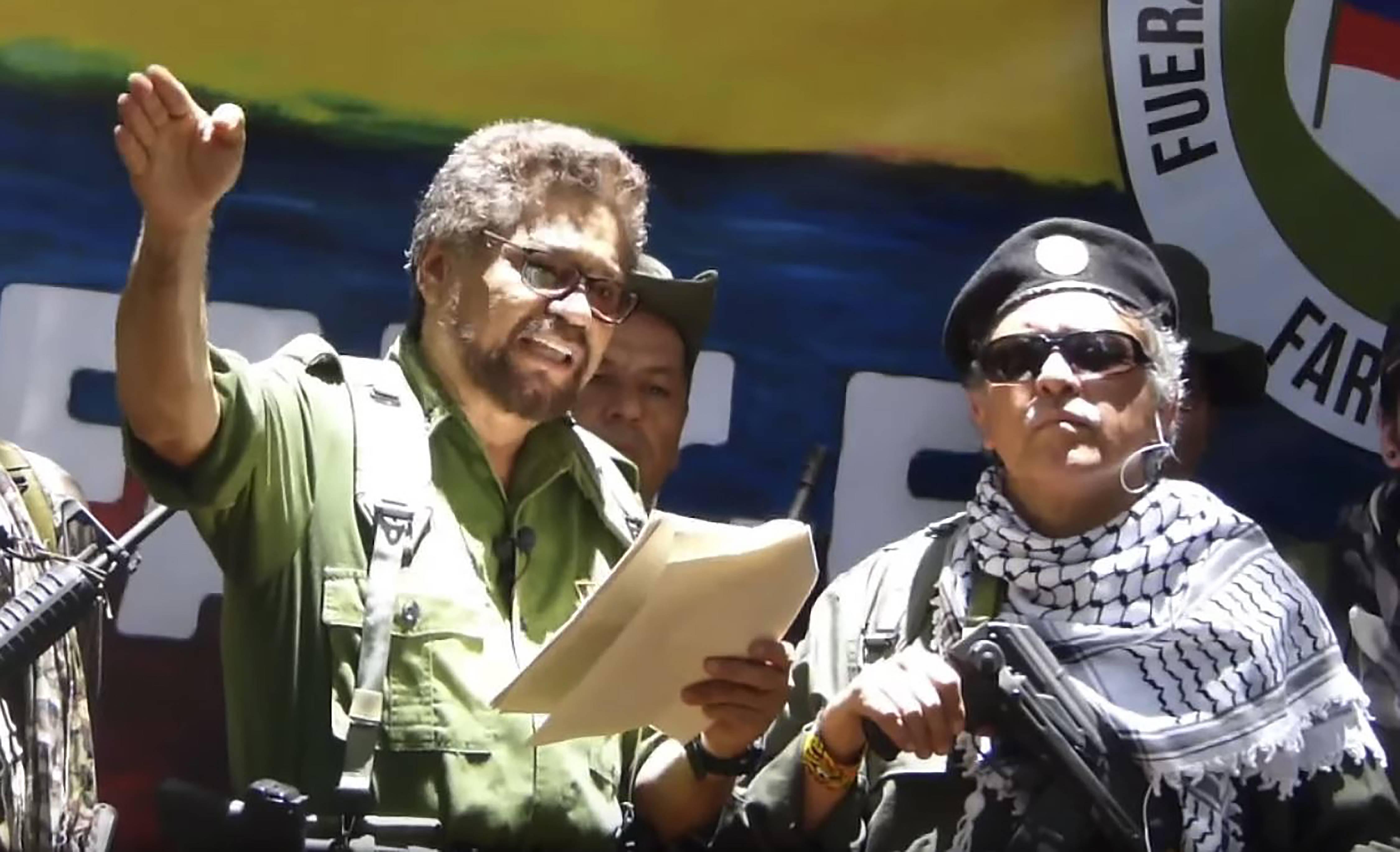 Ivan Marquez e Jesus Santrich prometem a volta da luta armada na Colômbia